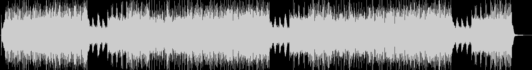 「HR/HM」「ROCK」BGM203の未再生の波形