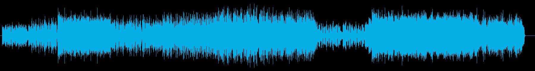 疾走感のある叙情的なエレクトロポップスの再生済みの波形