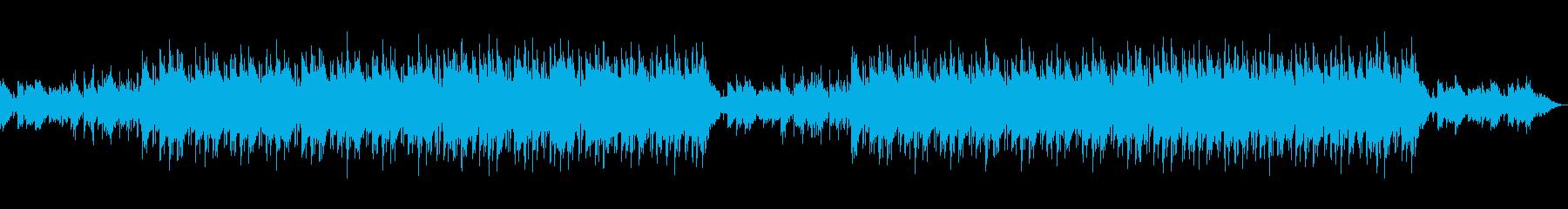 オールドスクール系ヒップホップBGMの再生済みの波形