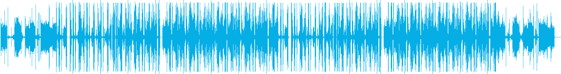 エレクトロなChill HipHopの再生済みの波形