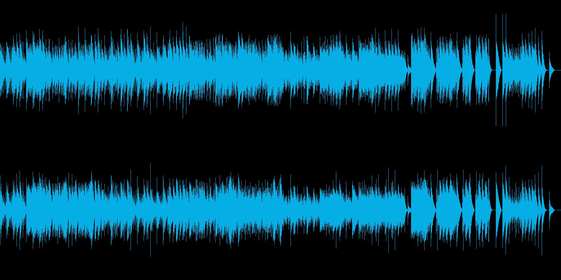 1. 朝 (オルゴール)の再生済みの波形