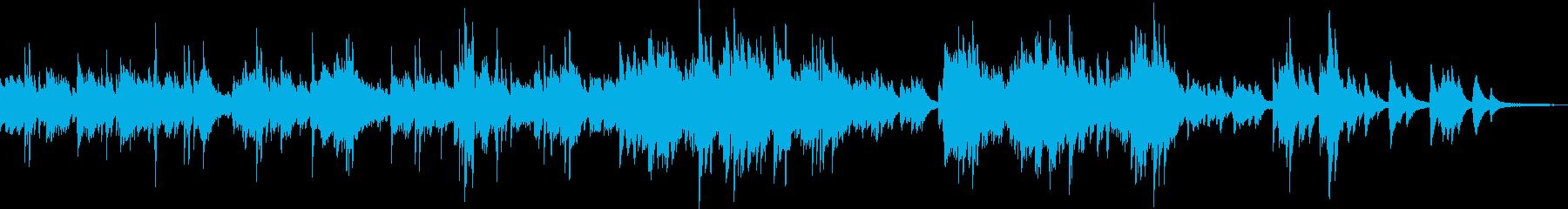安らぎのピアノ曲(優しい・幻想的・光) の再生済みの波形