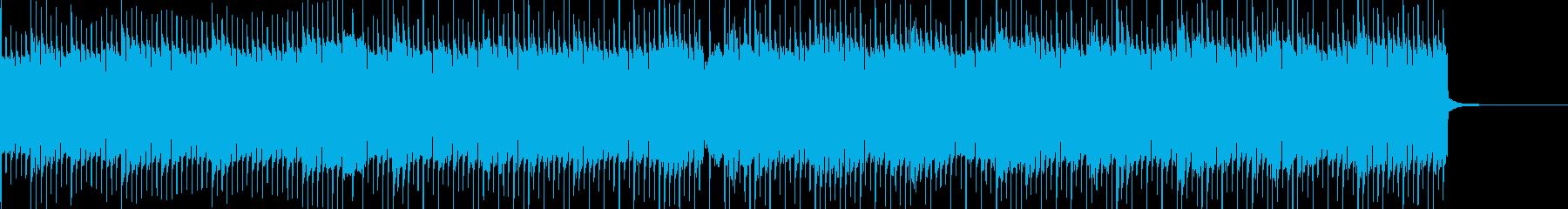 不気味なホラー系BGMの再生済みの波形
