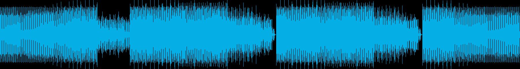コマーシャルハウスの再生済みの波形