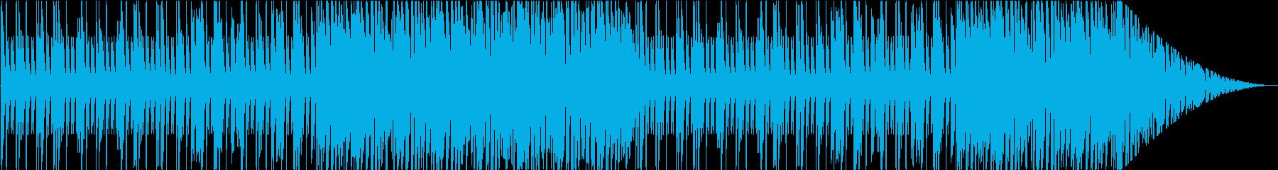 夜空/爽やか/ハウス_No435の再生済みの波形