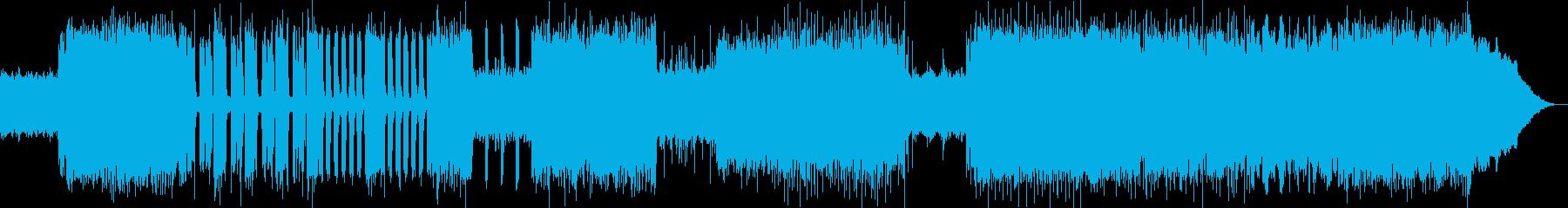 ヘビーメタルリフバンドル!ギター生演奏の再生済みの波形
