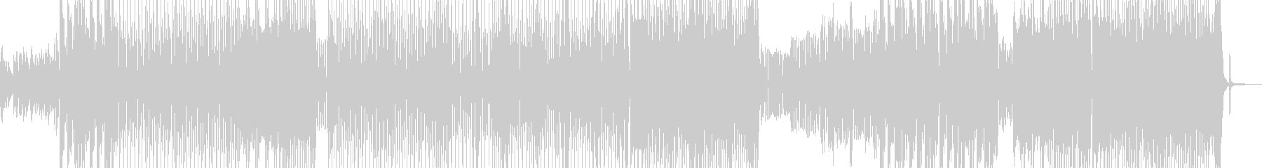 お菓子の国・メルヘンポップ B+の未再生の波形