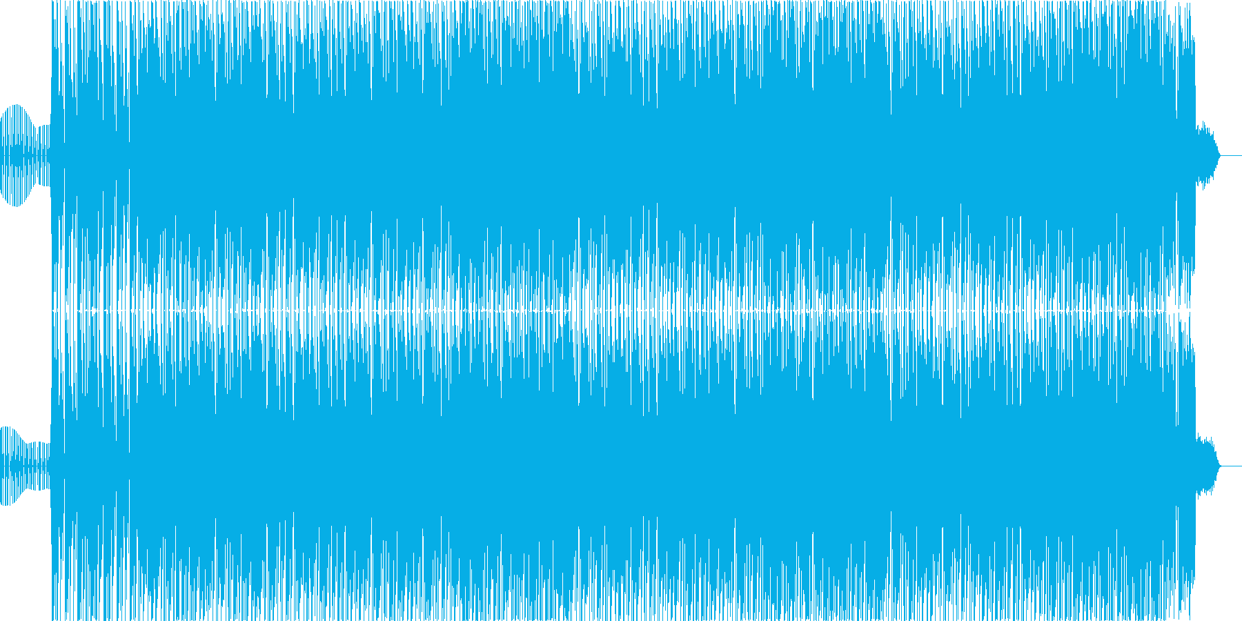 Serious and cool Hip Hop sound's reproduced waveform