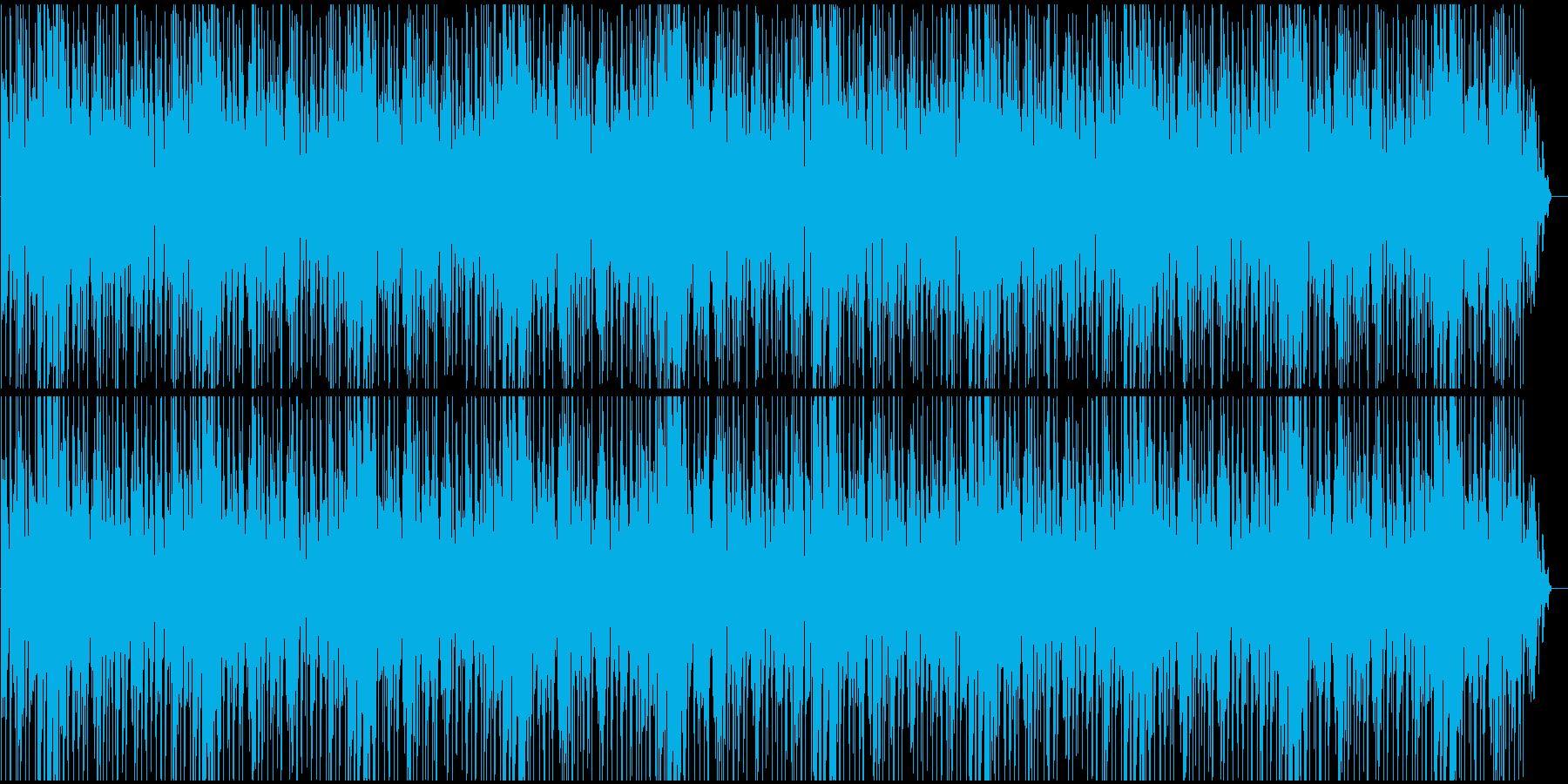 爽やかでおしゃれなBGMの再生済みの波形