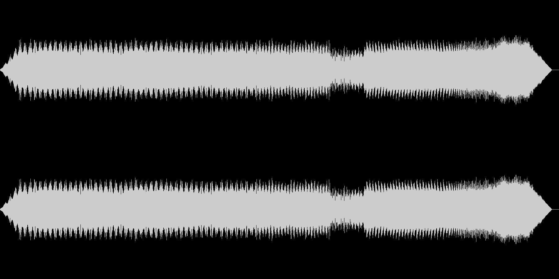 アラーム-アラーム、変換の未再生の波形