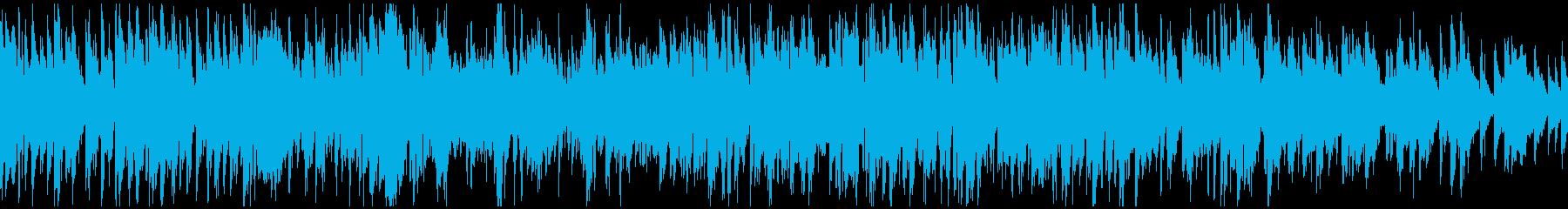 紳士的なサックスの音色、ジャズ※ループ版の再生済みの波形