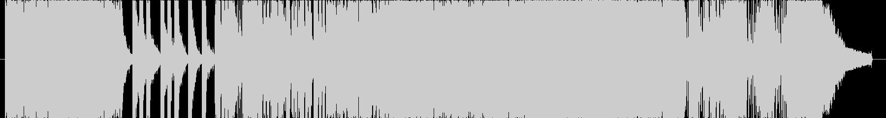 スピード感のあるエネルギッシュなロック!の未再生の波形