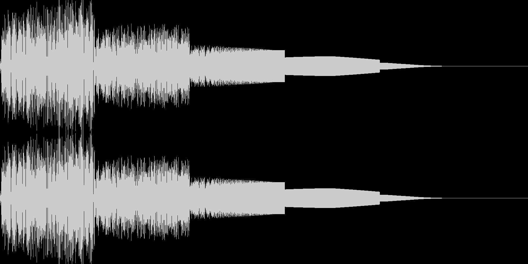 ピヨピヨ(ワープ/ファミコン/宇宙/魔法の未再生の波形