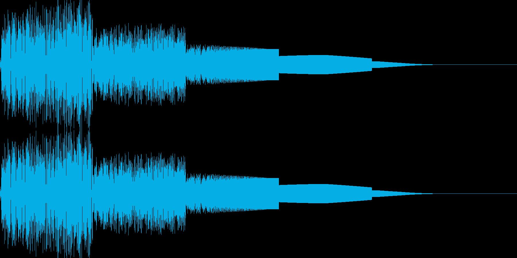 ピヨピヨ(ワープ/ファミコン/宇宙/魔法の再生済みの波形