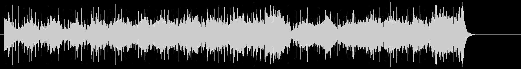 ロックなノリで引っ張るポップフュージョンの未再生の波形
