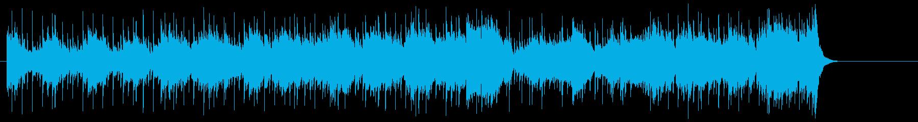 ロックなノリで引っ張るポップフュージョンの再生済みの波形