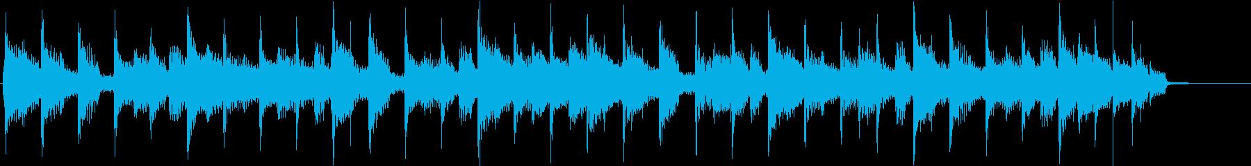 コーナータイトル_教育番組系の再生済みの波形