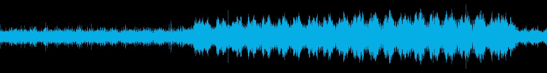 経過・推移の観察 淡々と爽やかな展開の曲の再生済みの波形