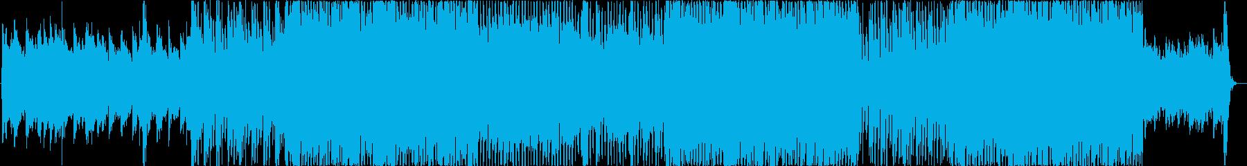 コールドプレイスタイル。の再生済みの波形