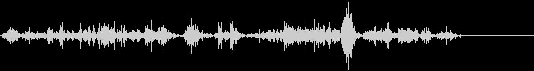 加工獣(KYMA)4の未再生の波形