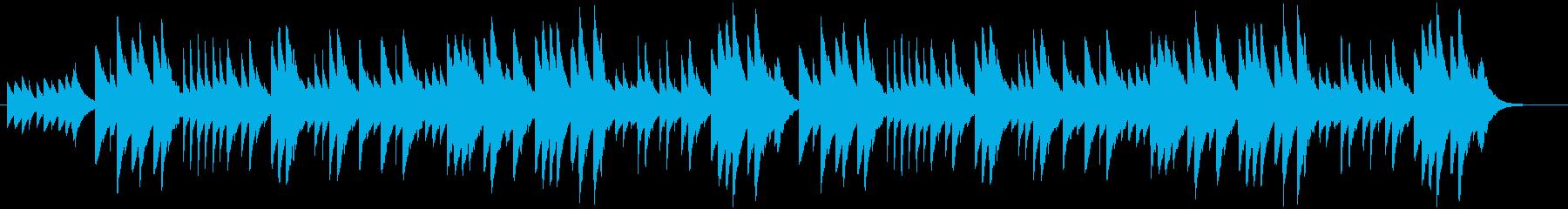 オルゴール思い出のアルバムSTEREOの再生済みの波形
