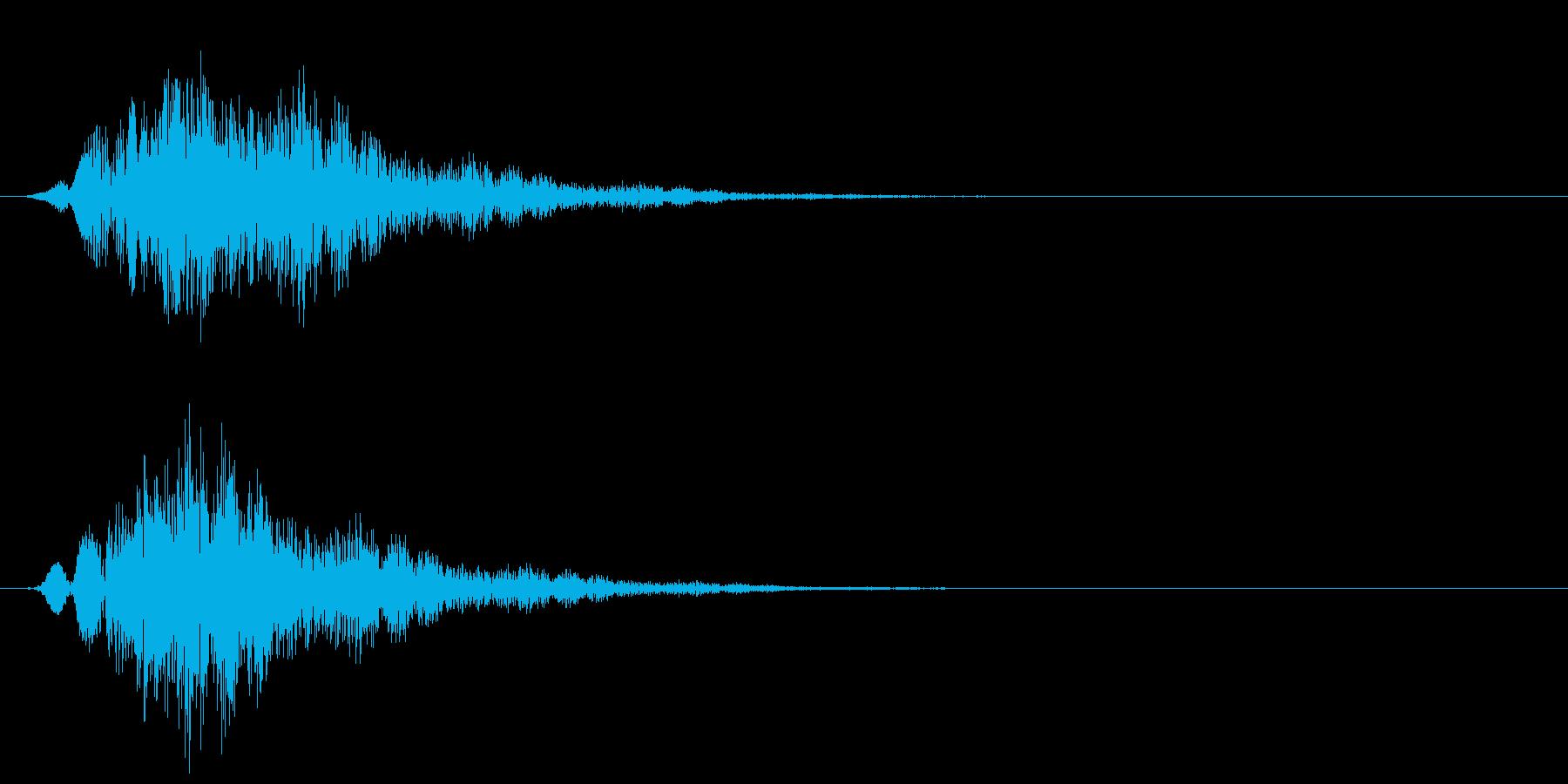 ブワワシュワワワ(怪しい・不思議・奇妙)の再生済みの波形