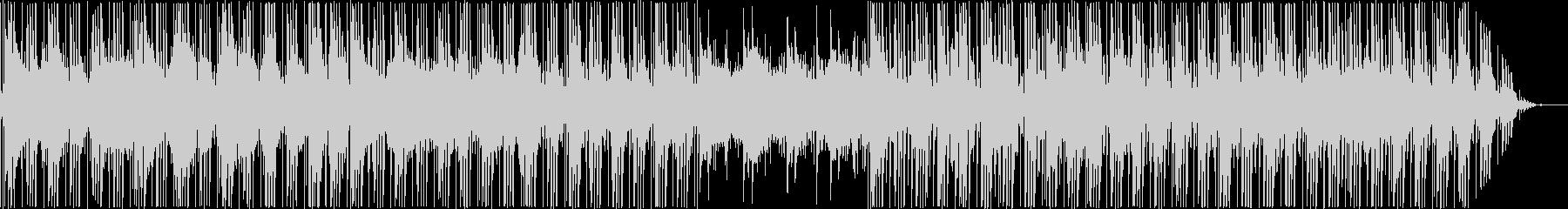 生演奏のスタイリッシュなヒップホップの未再生の波形