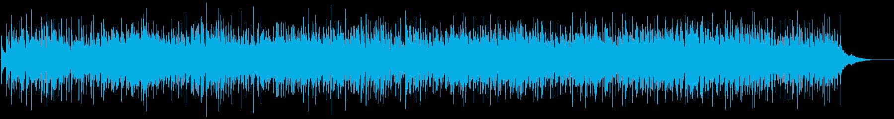 ピアノでご機嫌なノリのブルーグラスの再生済みの波形