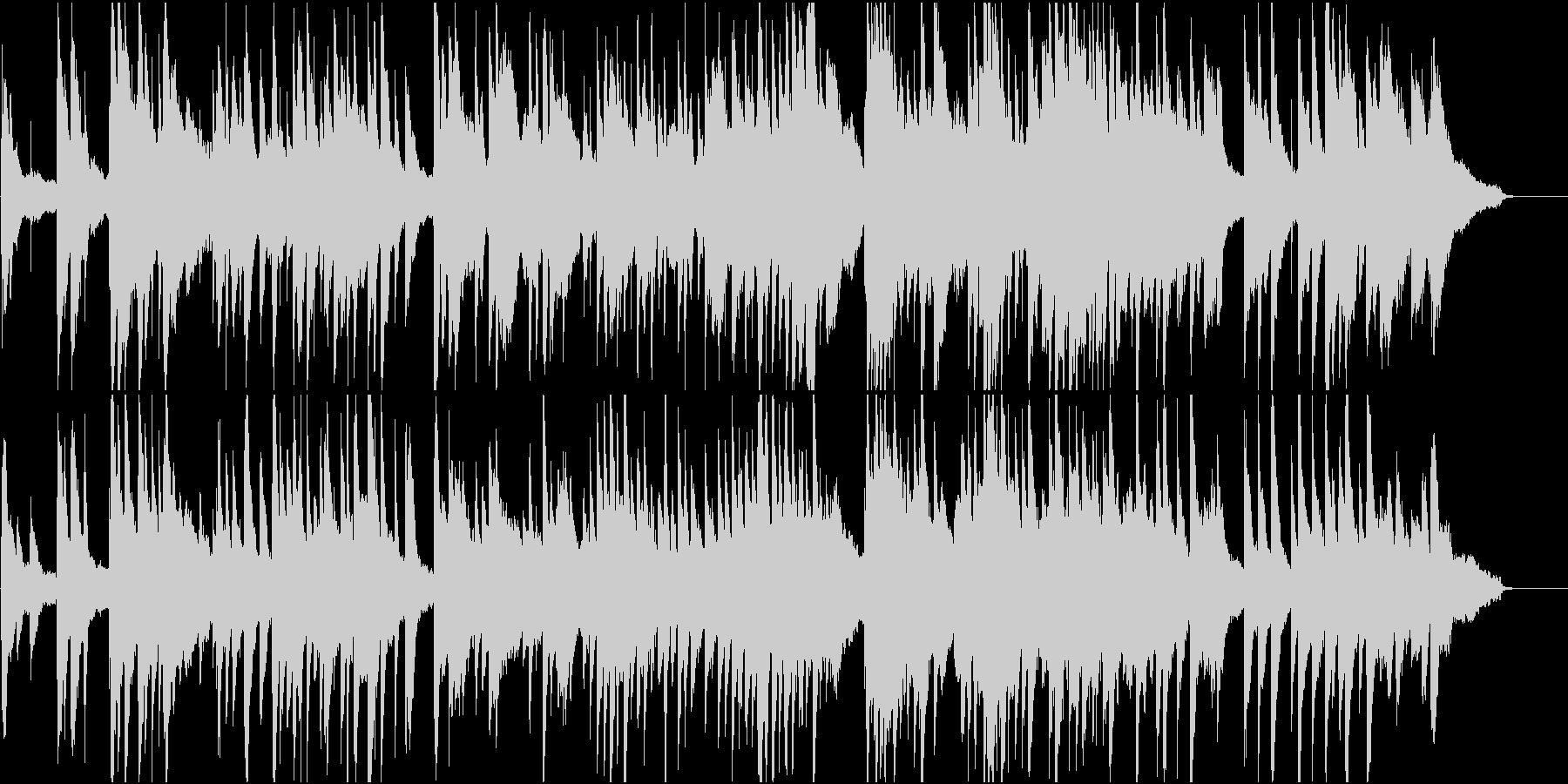 優しく落ち着く感じのピアノ曲(ショート版の未再生の波形