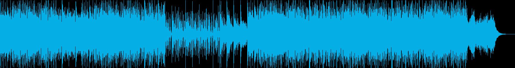素晴らしく簡単な、冷やされたインス...の再生済みの波形