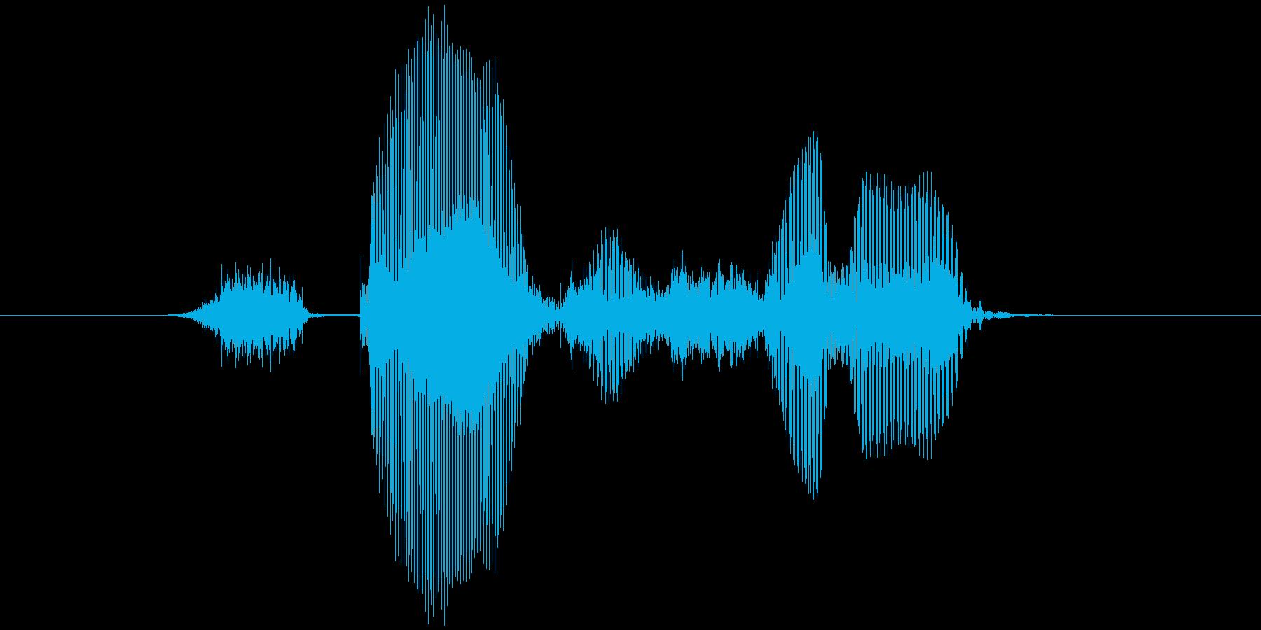 ステージ3(すりー)の再生済みの波形