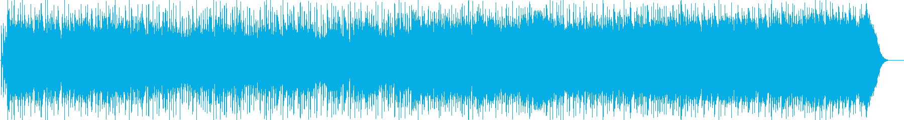 いきいきとして明るいポップロックの再生済みの波形
