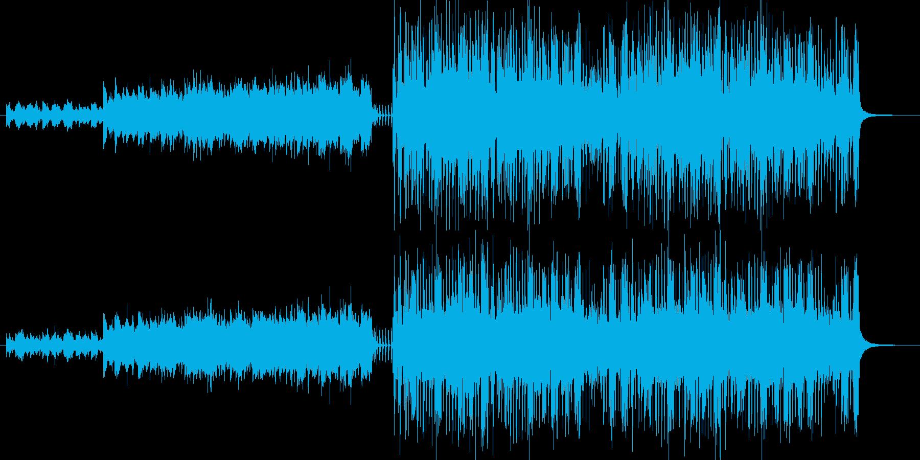 暗めで激しい。ゲーム用に作成した曲、前…の再生済みの波形