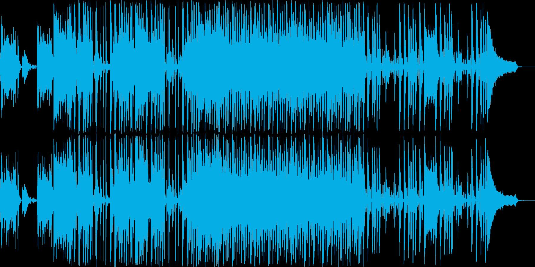 軽快で爽やかなイージーリスニングの再生済みの波形