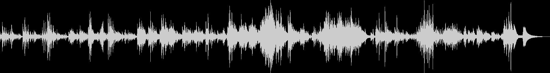 儚くて切ないピアノバラード(繊細・感動)の未再生の波形