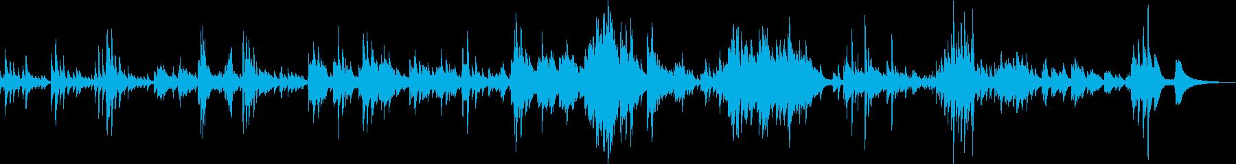儚くて切ないピアノバラード(繊細・感動)の再生済みの波形