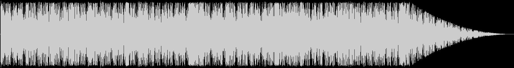 アップテンポ、短ループ曲。の未再生の波形