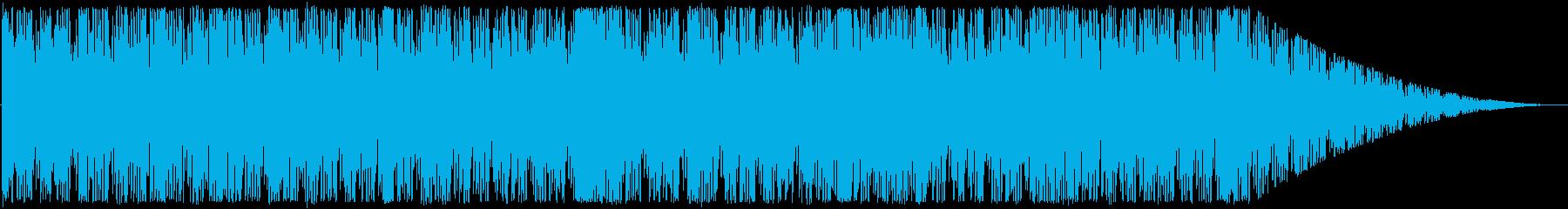 アップテンポ、短ループ曲。の再生済みの波形