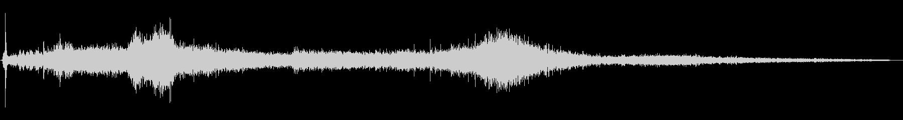 1972シトロエンDS21:スター...の未再生の波形