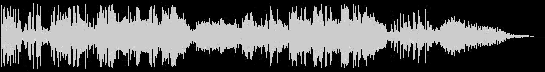 英語洋楽:中期ビートルズ・悲しげなピアノの未再生の波形