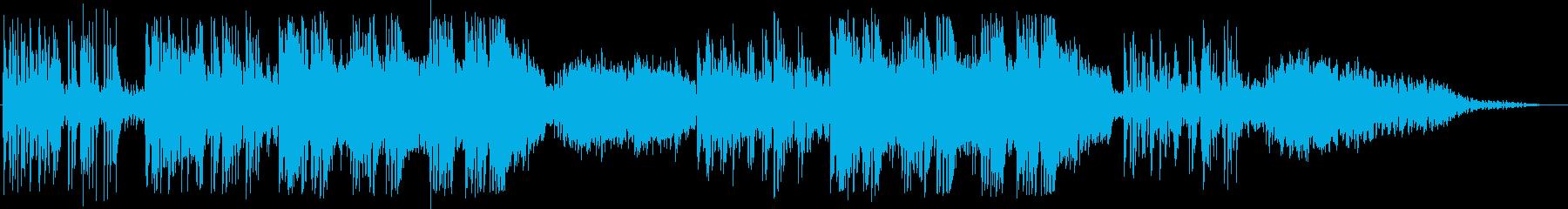英語洋楽:中期ビートルズ・悲しげなピアノの再生済みの波形