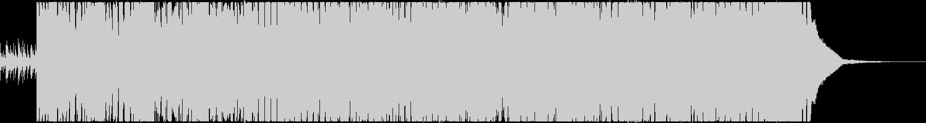 1分BGM 激しめ 琴の和風ロックの未再生の波形
