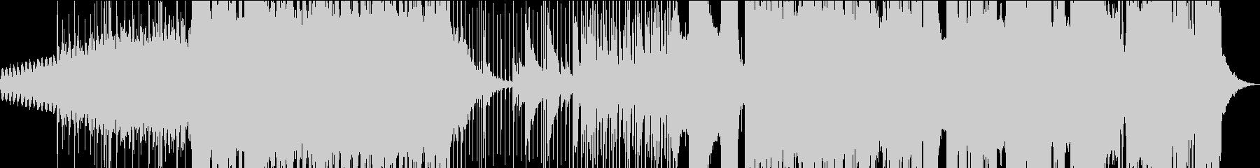 モダンな音使いの情報量多めメタルサウンドの未再生の波形