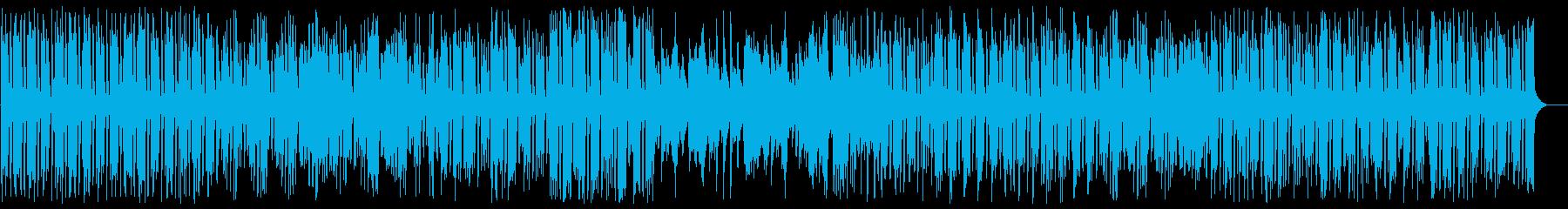アップテンポのメロディーの綺麗なピアノの再生済みの波形