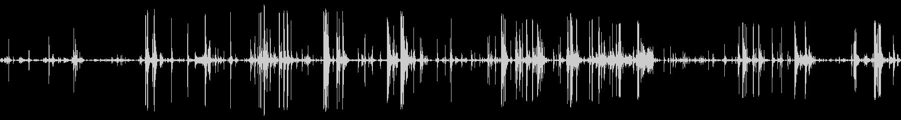 荷物移動ボックスラッチbの未再生の波形