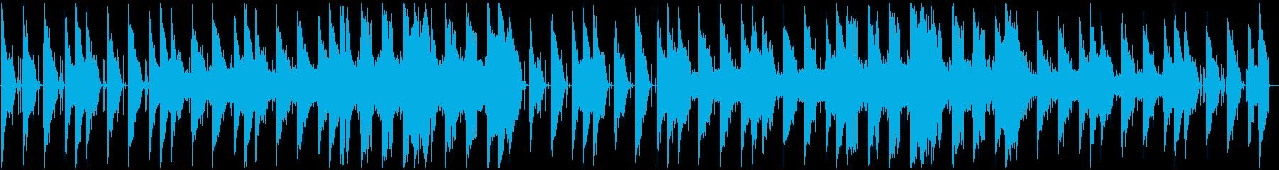 宇宙を感じるLofi beatの再生済みの波形