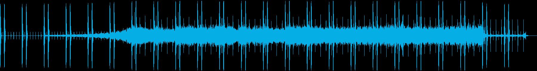アンダーグラウンド感があるエレクトロニカの再生済みの波形