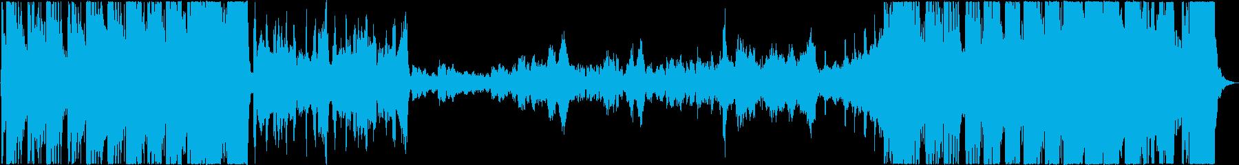 青空を飛び回るオーケストラの再生済みの波形