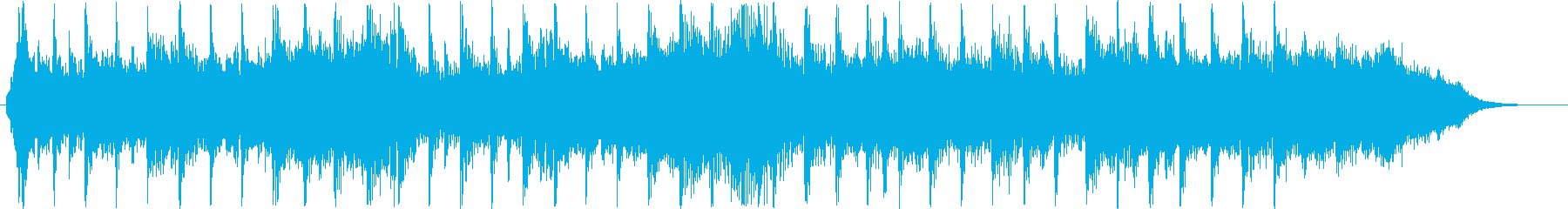 Short sounds such as dramatic guitars's reproduced waveform