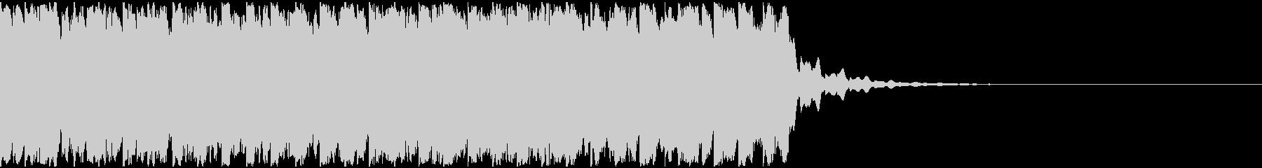 【アンビエント】ロング1、ジングル1の未再生の波形